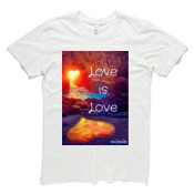 Love is Love - Mens Organic T